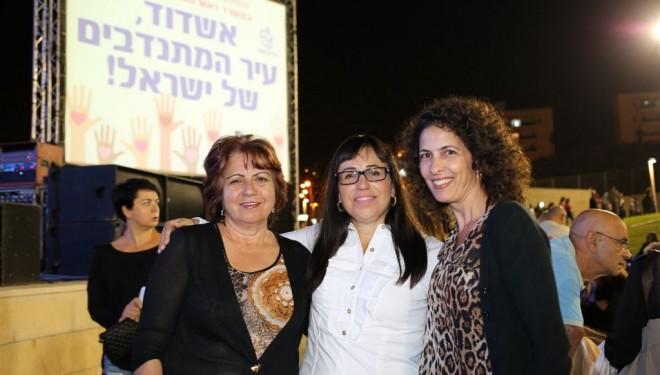 Ashdod est la ville des «bénévoles» par excellence en Israel !