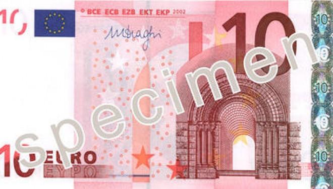 Zone euro: un nouveau billet de 10 euros en circulation après l'été 2014