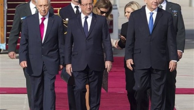 François Hollande en exercice d'équilibrisme à Jérusalem
