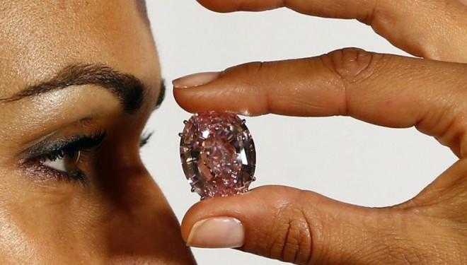 Le «Pink Star», la pierre précieuse la plus chère de l'histoire