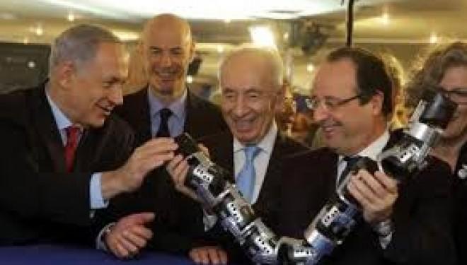 Hollande appelle à «élever le niveau»des échanges commerciaux avec Israël
