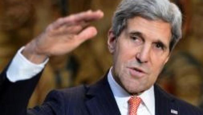John Kerry déclare à Bethléem que les USA ne renoncent pas !!!