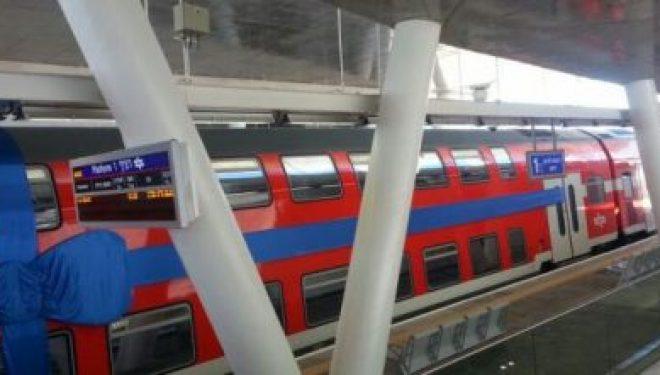 Le train à grande vitesse entre Tel Aviv et Jérusalem effectue son premier essai aujourd'hui