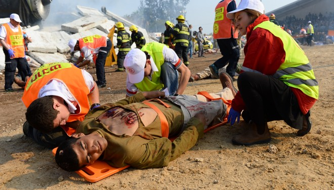 """Des soldats de Tsahal """"sauvent"""" en live les passagers d'un crash"""