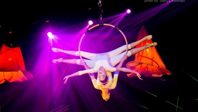 Union de deux grands cirques à Ashdod
