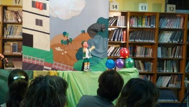 Théatre de marionnettes : Conte des 5 ballons !