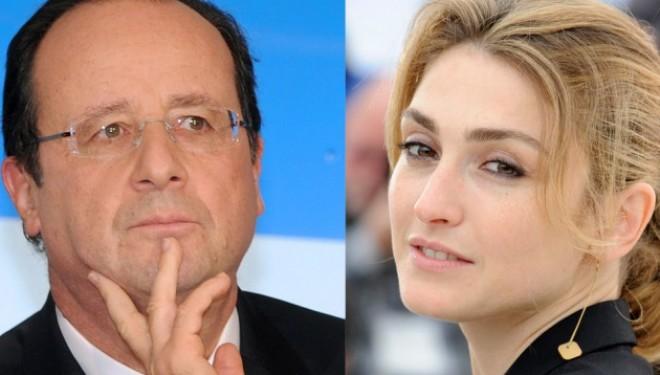 F.Hollande / Julie Gayet dans «Closer»: une couv' historique pour la presse people?