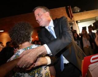 De Blasio, officiellement nouveau maire de New York