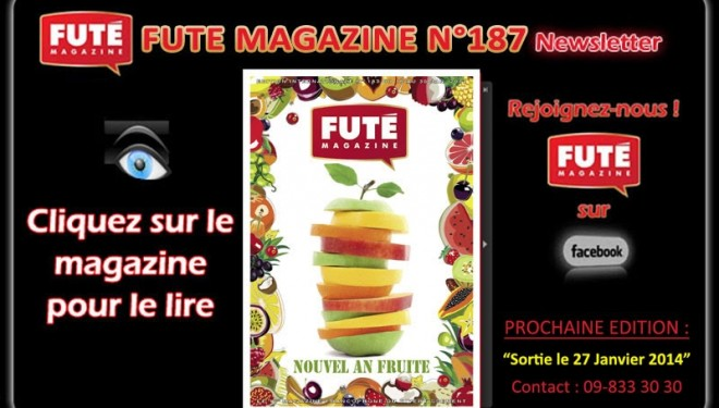 Futé Magazine n°187 : un nouvel an fruité !