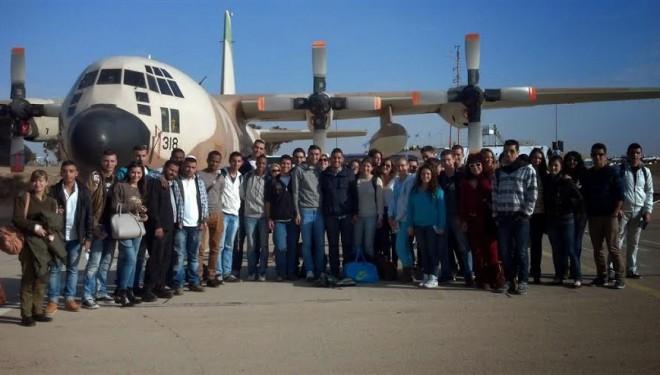 Des pilotes et des sous-mariniers au service des jeunes d'Ashdod