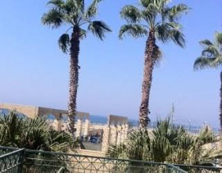 Location saisonnière à la Marina d'Ashkelon face à la mer