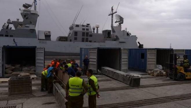 Détails des armes saisies à bord du cargo iranien à destination des terroristes de Gaza