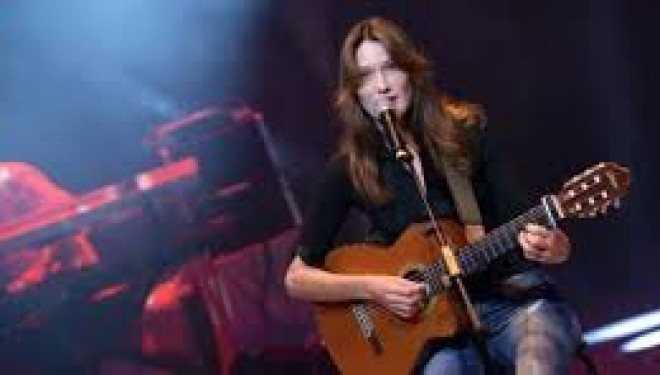 CARLA BRUNI en concert à Tel Aviv le 25 mai prochain !