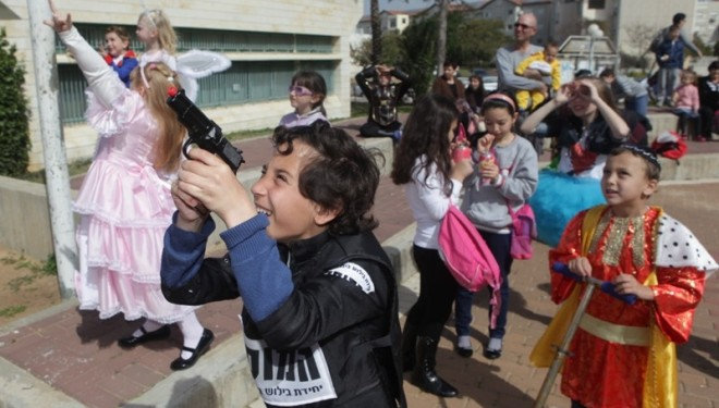 La municipalité fête Pourim avec les Ashdodien