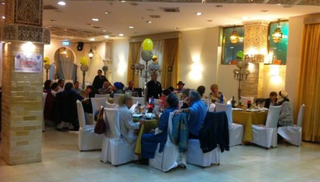 Grand bal de Pourim avec l'association Shavei  Tsion  d'Ashdod