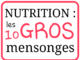 Santé : 10 gros mensonges sur la nutrition