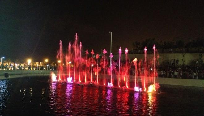 Le parc «Ashdod Yam» et sa fontaine «son et lumière»