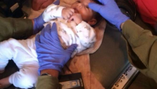 Un bébé palestinien sauvé par un médecin de Tsahal