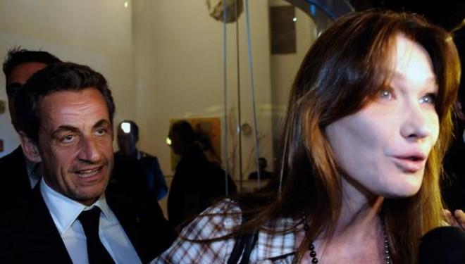 Carla Bruni et Nicolas Sarkozy ovationnés à Tel-Aviv