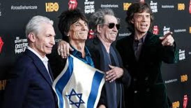 Incroyable, les Rolling Stones en concert en Israël le 4 juin prochain !