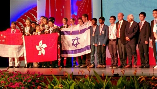 Olympiade de physique à Singapour : Ashdod a l'honneur !