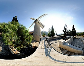 «Jerusalem 360»- Faites le Tour de Jerusalem en ligne à 360 degrés