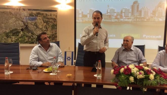 Les représentants de communautés juives de France ont visité Ashdod