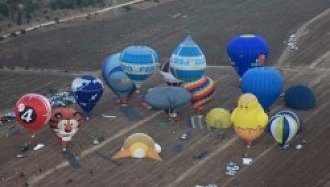 hol hamoed souccot : concours international de mongolfières