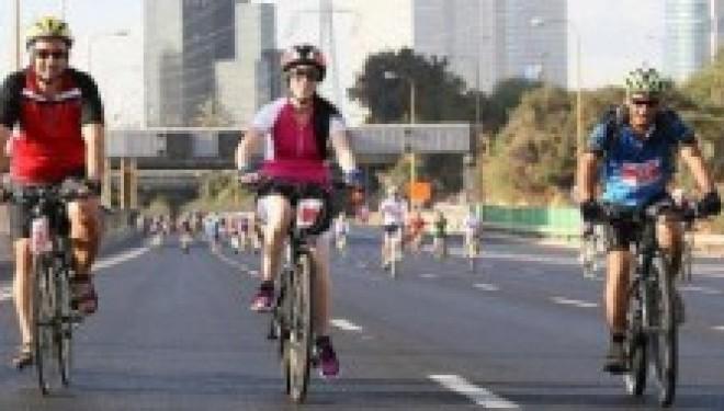 Demain aura lieu le plus grand événement de vélos en Israël