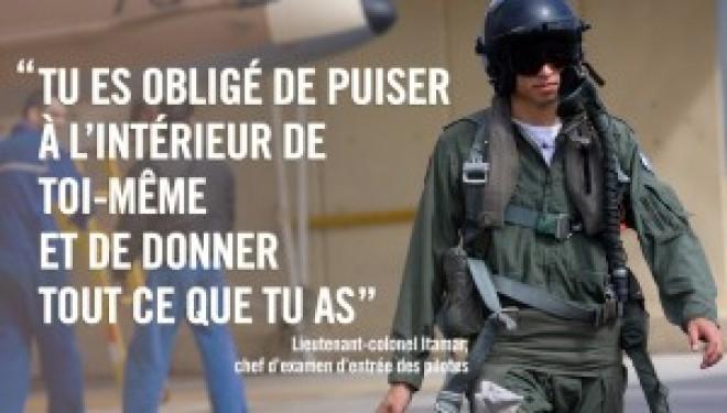 Pour devenir pilotes dans Tsahal, les soldats doivent passer cet examen