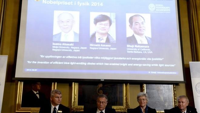 Le prix Nobel de physique va aux trois inventeurs de la LED