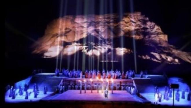 Son et Lumières a Massada le 22 Août 2017 avec Shavei Tsion