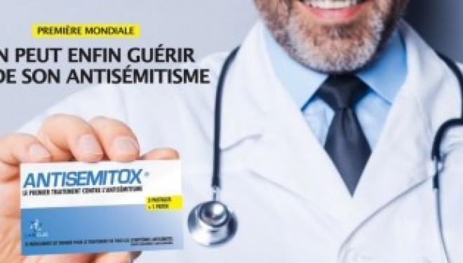 «Antisemitox» : un faux médicament pour faire le buzz contre l'antisémitisme
