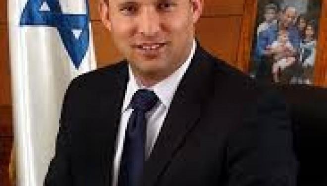 Naftalie Bennett futur Premier Ministre ? : je ne donnerai aucune parcelle de la Terre d'Israel aux Arabes