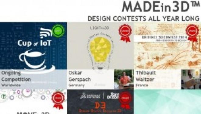 MADEin3D™ Design Competition – Invitation pour les israéliens !