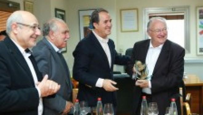 le Dr Lasri rencontre le president du CRIF