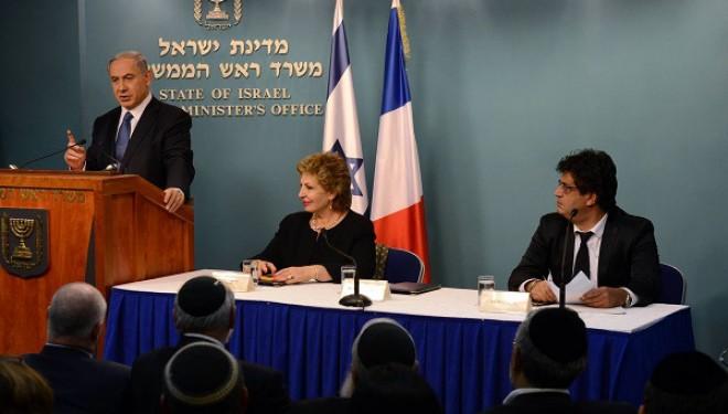 Netanyahu aux juifs de France: « Israël est votre foyer », Je suis Charlie, Cacher aussi et solidarité !