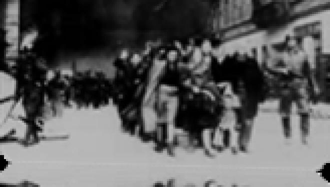 shoah 70 ans déjà :  La révolte du ghetto de Varsovie par Joel Guedj