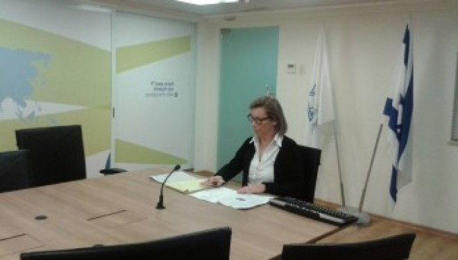Michele Nabet : L'Alyah à Ashdod en visio-conférence avec la France le 01-02-2015