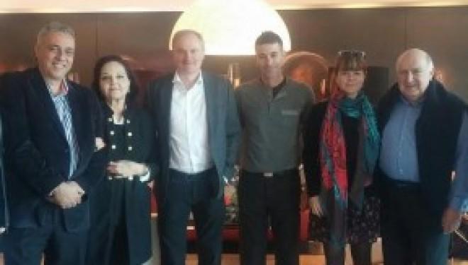 Des dirigeants de la communauté spatiale internationale ont visité Ashdod.