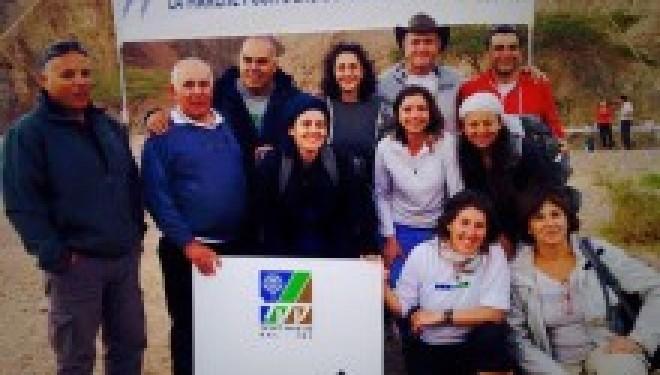 La Marche pour l'eau du KKL ou le développement  du tourisme trekking en Israël
