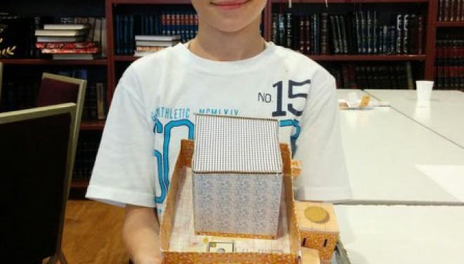 Decouvrez le projet éducatif pour enfants qui peuvent apprendre a construire le Beth Hamikdach