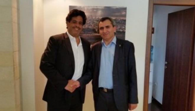Reconnaissance des diplômes : point sur la réunion de travail entre Meyer Habib et Zeev Elkin
