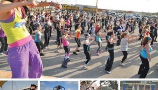 Nouveau : Séchez la gym, venez nombreux au cours de Zumba dans le parc Ashdod Yam !