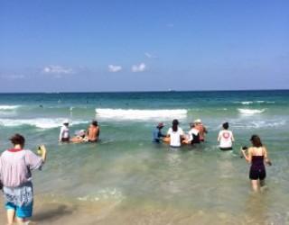 L'association ASA avec la ville d'Ashdod ouvrent les portes de la mer aux personnes handicapées