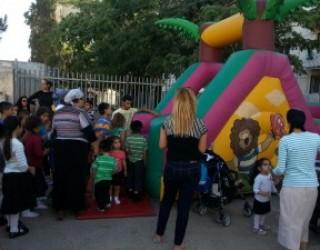 Happening des voisins cet été a Ashdod