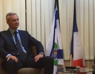 Ce soir, Bruno Le Maire a fait salle comble a l'Institut Français de Tel Aviv