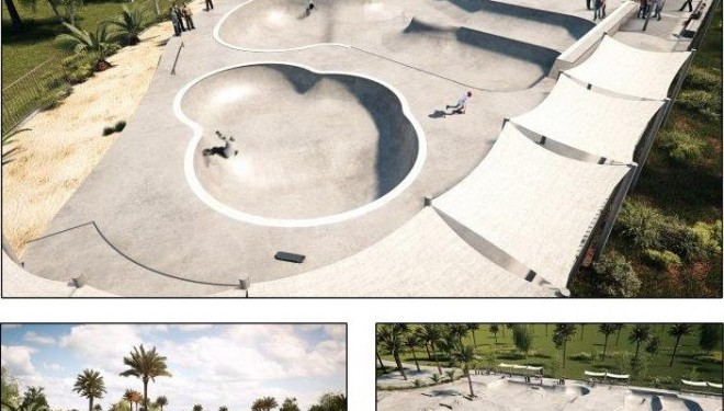 La société «Hofit» : Début du projet du skatepark d'Ashdod