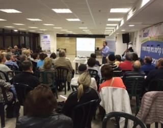 Le système de sante israélien : Gros succès  pour cette deuxième rencontre avec les olim francophones