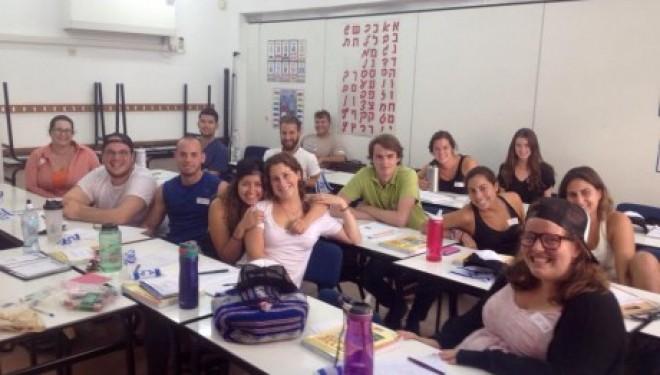 La population d'Ashdod accueille de jeunes américains dans le cadre d'un programme MASA